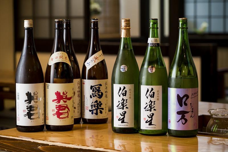 日本酒も多数